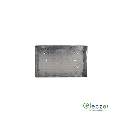 Anchor Concealed Galvanized (GI) Sheet Metal Box 16 Module Suitable For Woods, Roma Plus And Rider