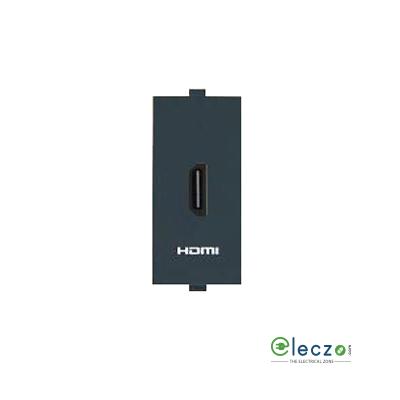 Anchor Roma Classic HDMI Receptor Black, 1 Module
