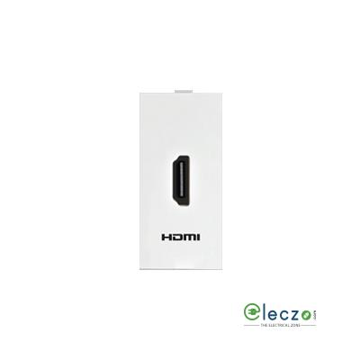 Anchor Roma Classic HDMI Receptor White, 1 Module