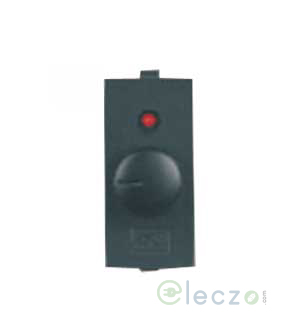 Anchor Roma Classic Dimmer Tiny 450 W, 1 Module, Black, With Indicator