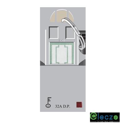 Anchor Roma Classic Hotel Key Card Silver, 32 A, Key Ring Tag