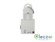 Anchor Roma Classic DP Switch With Hotel Key Card White, 32 A, Key Ring Tag, 2 Module
