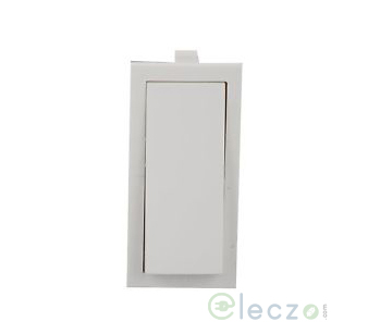 Anchor Roma Switch 20 A, White, 1 Module, 1 Way