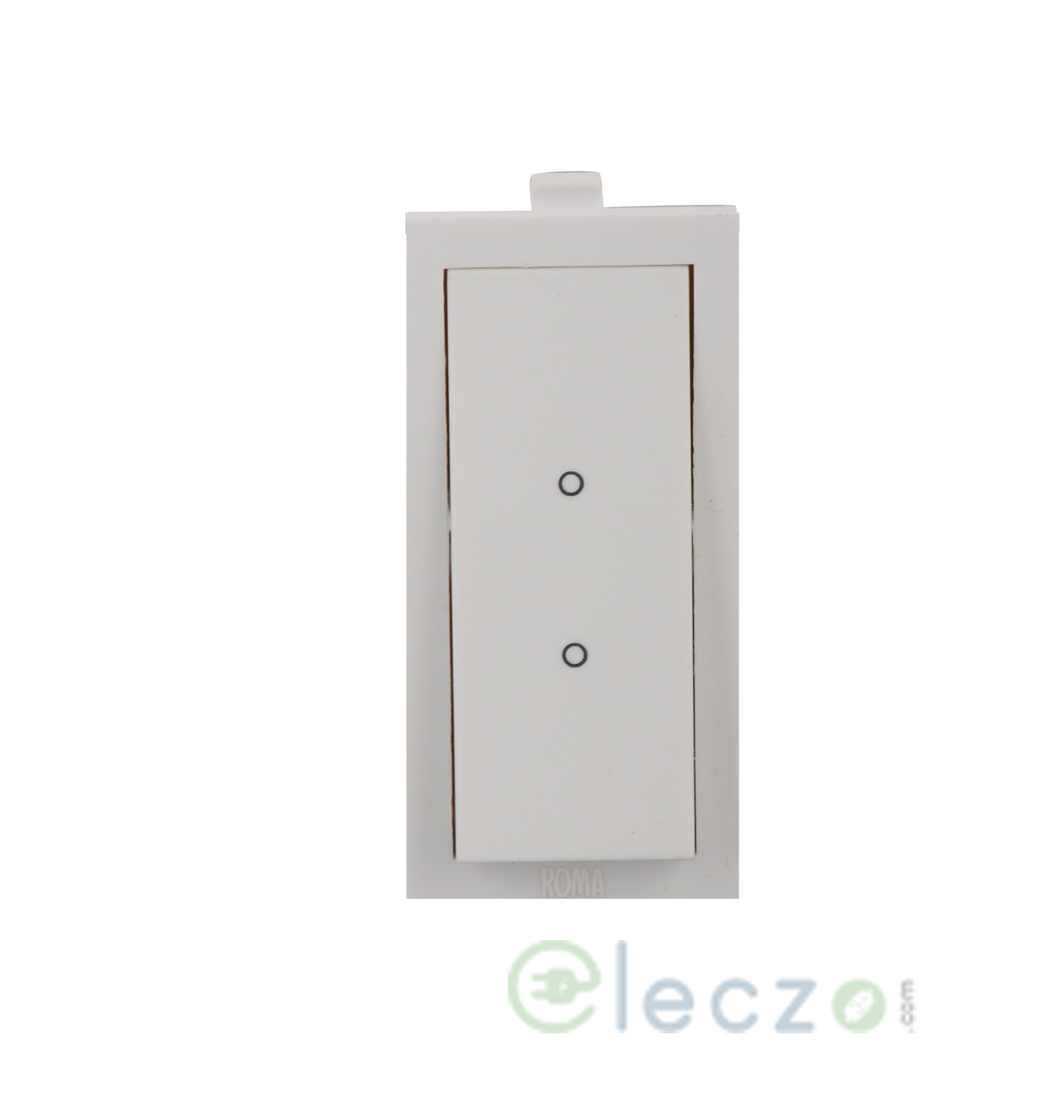 Anchor Roma Switch 20 A, White, 1 Module, 2 Way