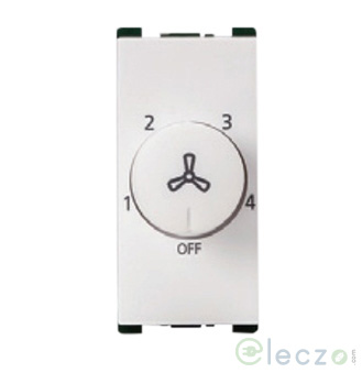 Anchor Vision Fan Regulator 100 W, 1 Module, White