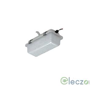 Crompton IP-54 Bulk Head Light 15-20-25 W, White, Deep Drawn