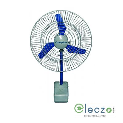"Crompton AC600WALL-1 Air Circulator Wall Mounting Fan 600 mm (24""), Single Phase"