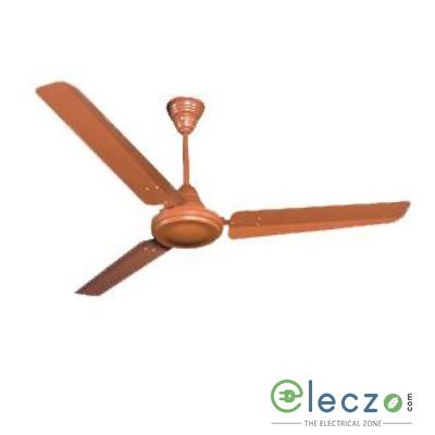 "Crompton High Speed Standard - Plain Ceiling Fan 1200 mm (48""), Brown, 3 Blade"