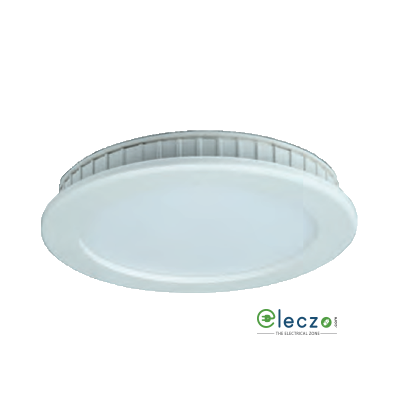 Crompton LED Surface Panel Ring Light 2 W, White, Ceiling Mounted, Round