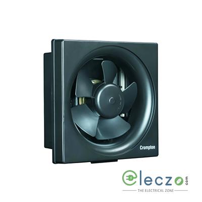 Crompton Ventilus Domestic Exhaust Plastic Ventillation Fan 150 mm (6''), Black