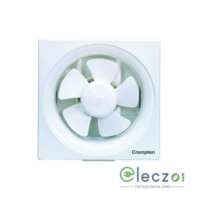 Crompton Ventilus Domestic Exhaust Plastic Ventillation Fan 150 mm (6''), White