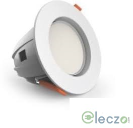 GM Modular G-LUX G3 LED Down Light 6.5 W, White, Concealed Mounted, Round