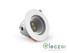 GM Modular G-LUX G5 LED Down Light 4.5 W, White, Concealed Mounted, Round
