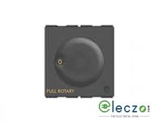 GM Modular FourFive Electronic Type Fan Regulator 2 Module, Glossy White, 5 Step (Full Rotary)