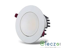 GM Modular G-LUX Q10X LED Down Light 8 W, White, Concealed Mounted, Round