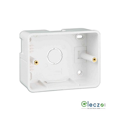 Great White PVC Surface Junction Box 3 Module, Suitable For Myrah Or Fiana