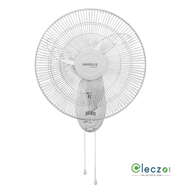 Havells Airboll High Speed Wall Fan 450 mm (18''), White