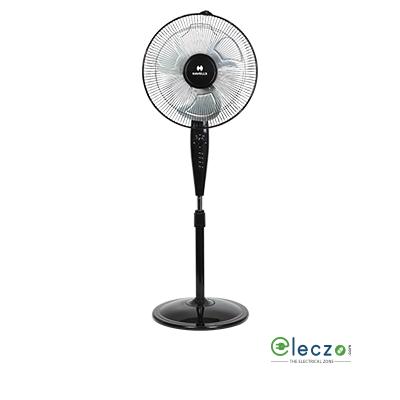 "Havells Girik Metalic Pedestal Fan 400 mm (16""), Black"