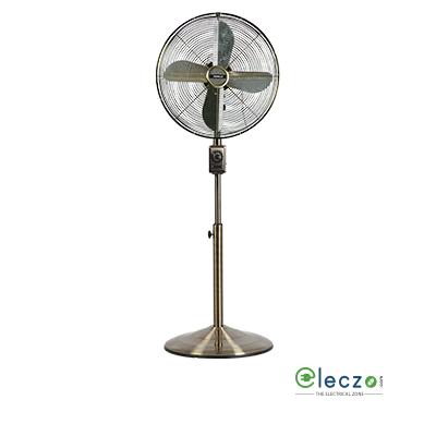 """Havells Glitz Speed Pedestal Fan 400 mm (16""""), Black"""