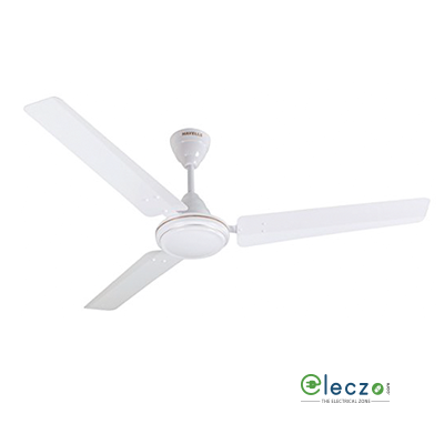 """Havells Pacer High Speed Ceiling Fan 900 mm (36""""), White, 3 Blade"""