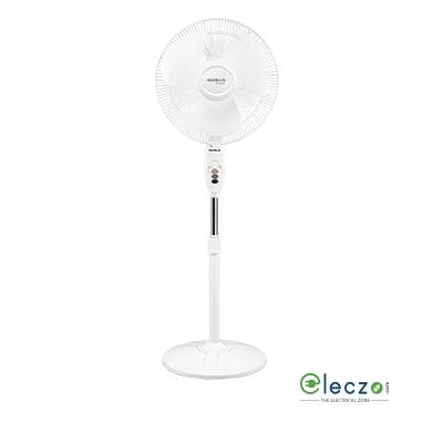 "Havells Sprint High Speed Pedestal Fan 400 mm (16""), White"