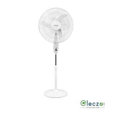"Havells Sprint High Speed Pedestal Fan 450 mm (18""), White"