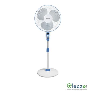 """Havells Sprint LED Pedestal Fan 400 mm (16""""), Blue"""