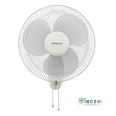 Havells Swing Wall Fan 400 mm (16''), Off White