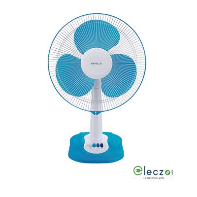 Havells Swing ZX Table Fan 400 mm (16''), Blue