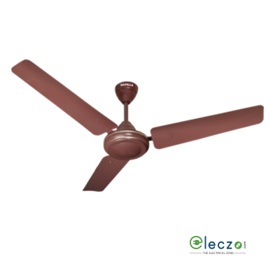 """Havells Velocity Ceiling Fan 900 mm (36""""), Brown, 3 Blade"""