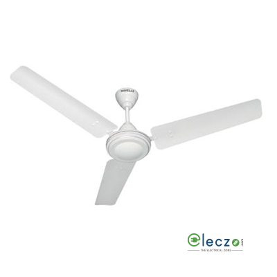 """Havells Velocity Ceiling Fan 1050 mm (42""""), White, 3 Blade"""