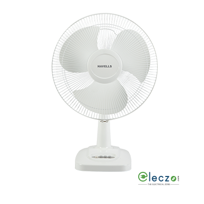 Havells Velocity Neo High Speed Table Fan 400 mm (16''), White