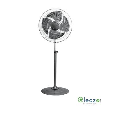 """Havells Windstorm Pedestal Fan 450 mm (18""""), Black"""
