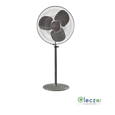 """Havells Windstorm Pedestal Fan 500 mm (20""""), Black"""