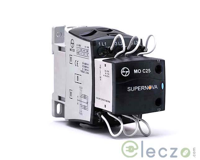 L&T MO C5 Capacitor Duty Contactor 5 KVAr, 415 V AC, 1 NO