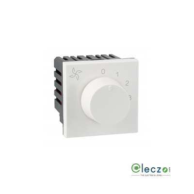 Legrand Arteor Fan Regulator (Square) 120 W, 2 Module, White, 5 Step