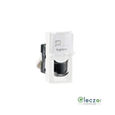 Legrand Arteor Information Socket 1 Module, White, RJ 45 (Cat 5)