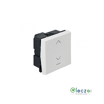 Legrand Arteor SP Switch (Square) 20 A, White, 2 Module, 2 Way, With Indicator