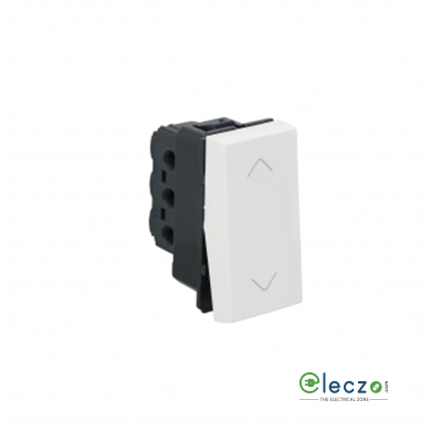 Legrand Arteor SP Switch (Square) 6 A, White, 1 Module, 2 Way