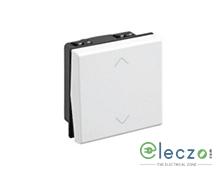 Legrand Arteor SP Switch (Square) 10 A, White, 2 Module, 2 Way