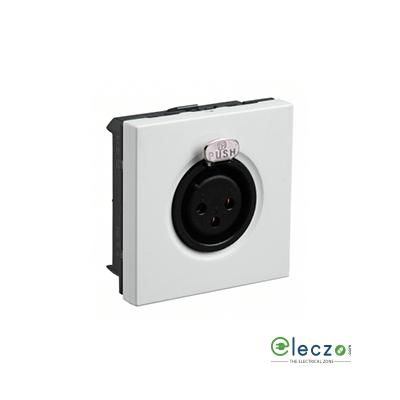 Legrand Myrius TP XLR Audio & Video Socket White, 2 Module