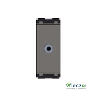 Norisys Cube Series Audio Port Quartz Grey, 1 Module