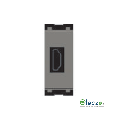 Norisys Cube Series HDMI Socket Quartz Grey, 1 Module