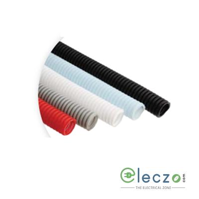 Precision Corrugated Flexible Conduit Pipe Poly Propylene 10 mm, Grey