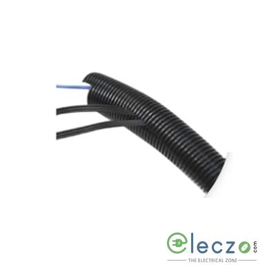 Precision Corrugated Flexible Conduit Pipe Fire Retardant Poly Propylene (FRPP) 16 mm, White