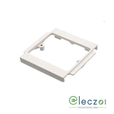 Precision UPVC Socket Mounting Frame 1 GANG, Ivory