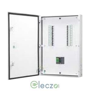 Schneider Electric Acti 9 Distribution Board 4 Way, MCCB IC + 12 OG Module, VTPN, Double Door - Metal, IP 43