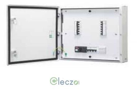 Schneider Electric Acti 9 Distribution Board 4 Way, 8 IC + 12 OG Module, VTPN, Double Door - Metal, IP 43