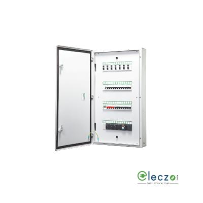 Schneider Electric Acti 9 Flexi Tier Distribution Board 4 Tier 40 Module, 4 IC + 10 OG, Single Door, IP 30