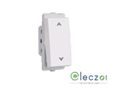 Schneider Electric Livia Switch 10 A, White, 1 Module, 2 Way